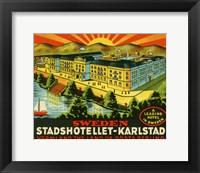 Framed Luggage Stadshotellet-Karlstad