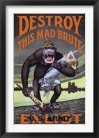 Framed Destroy This Mad Brute
