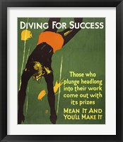 Framed Diving for Success