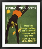 Framed Diving for Success