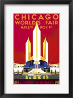 Framed Chicago, A Century of Progress