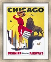 Framed Chicago, Braniff International Airways