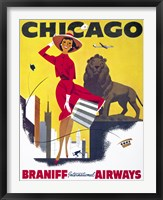 Framed Chicago, Braniff International Airways
