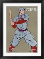 Framed Cornell Baseball