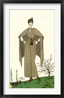 Framed Costumes Parisiens of 1914, Women's Fashion