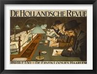 Framed De Hollandsche Revue
