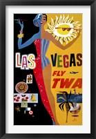 Framed Las Vegas, Fly TWA