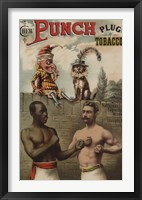 Framed Punch and Chew, 1886