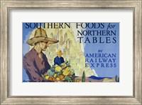 Framed Southern Foods