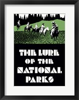 Framed Lure of the National Parks