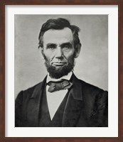 Framed Abraham Lincoln, Head and Shoulders