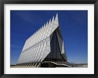 Framed Air Force Academy Chapel Coloradon Springs