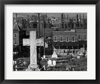 Framed Bethlehem Graveyard and Steel Mill