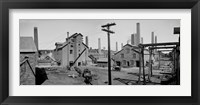 Framed Calumet and Hecla Smelters