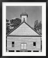 Framed Church, Southeastern U.S.