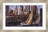 Framed Mart Bofarull - Port de San Francisco