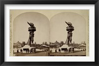 """Framed Colossal Hand and Torch """"""""Liberty"""""""""""
