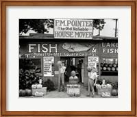 Framed Roadside Stand Near Birmingham, Alabama