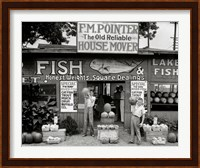 Framed Roadside Stand Near Birmingham, Alabama