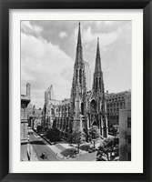 Framed Saint Patrick's Cathedral