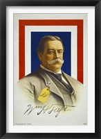 Framed William Howard Taft, Candidate for U.S. President