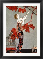 Framed Oriental Red, 1914