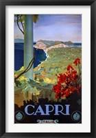 Framed Capri Italia