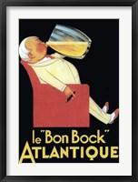 Framed Le Bon Bock Atlantique