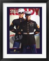Framed Still Ready Marines