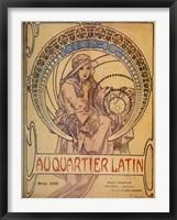 Framed Quarter Latin