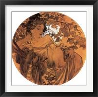 Framed Autumn Medallion