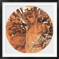 Framed Spring Medallion