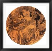 Framed Summer Medallion