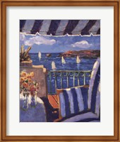 Framed Sails in the Ocean