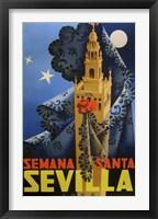 Framed Semana Santa Sevilla IV