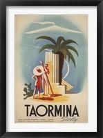 Framed Taormina, Sicily
