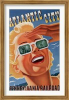 Framed Atlantic City Sunglasses