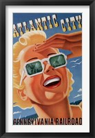 Framed Atlantic City Sunglasses