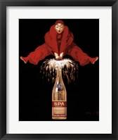 Framed Belgium Liquor Red Man