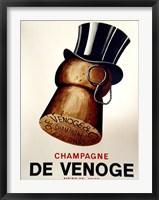 Framed Champagne Cork