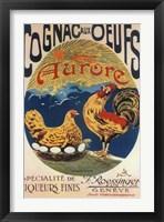 Framed Cognac Oeufs