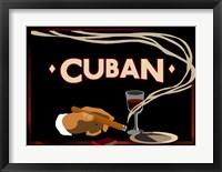 Framed Cuban