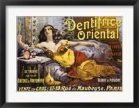 Framed Dentrifice Oriental