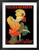 Framed Folies Bergere