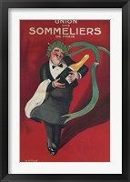 Framed Sommeliers Champagne