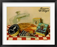 Framed Vintage Cheese - Fromage