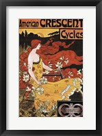 Framed Crescent Cycles