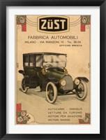 Framed Zust Automobile