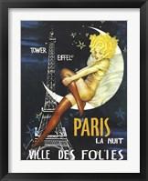 Framed Paris Moon