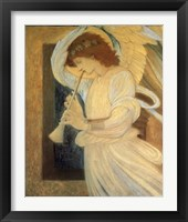 Framed Angel With Shofar